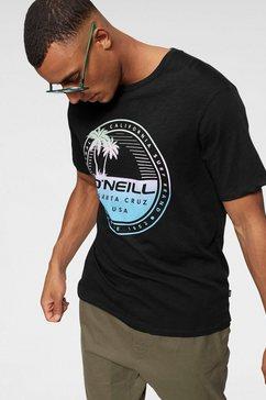 o'neill t-shirt »lm palm island t-shirt« zwart