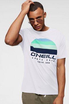 o'neill t-shirt »lm o'neill sunset t-shirt« wit