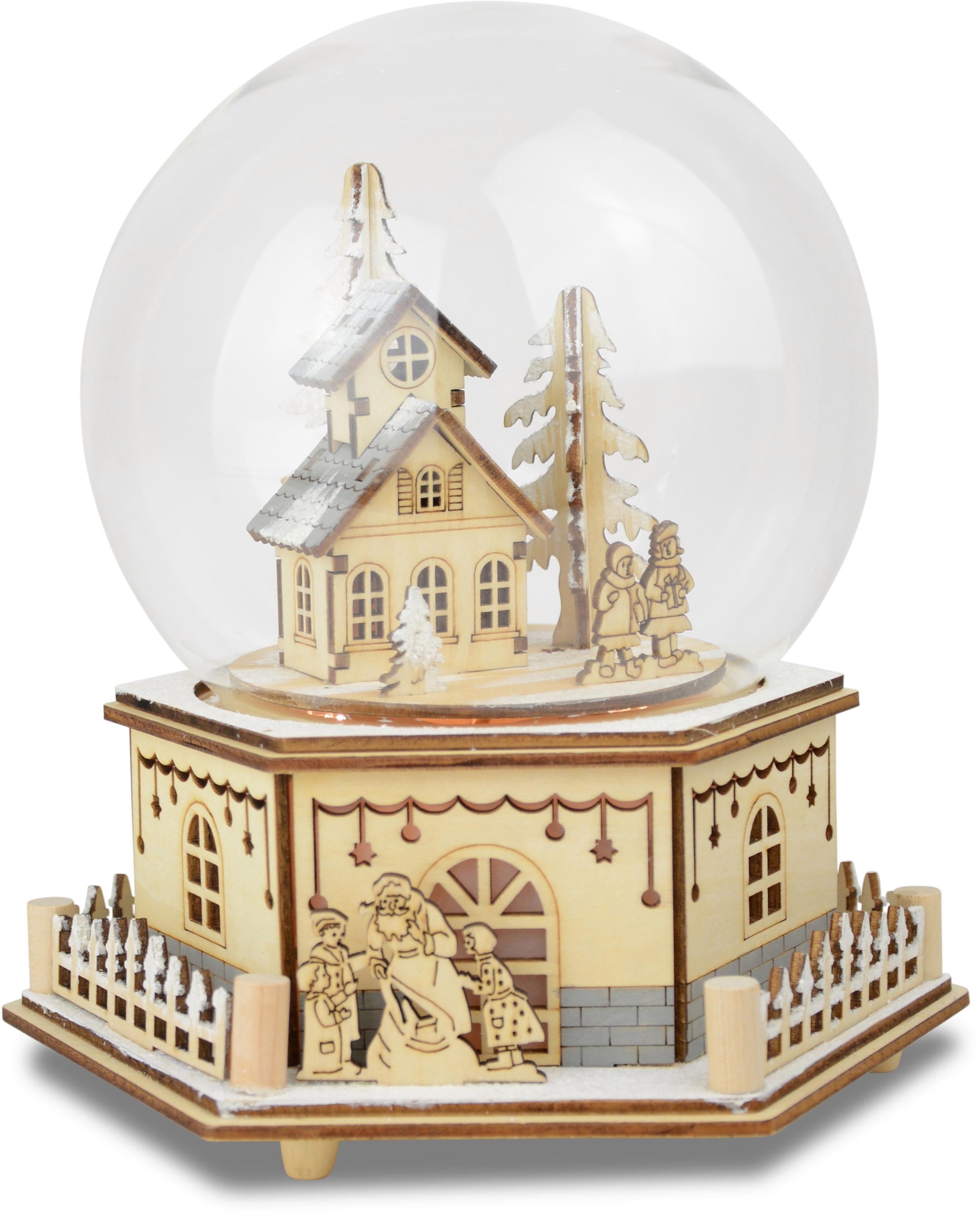 Led-speeldoosje in glazen stolp, »Huis met kinderen« online kopen op otto.nl