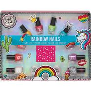 nagellakset »chit chat - rainbow nails« multicolor