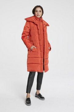donzen mantel oranje