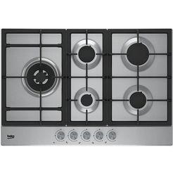 beko inbouw-gaskookplaat hial75225sxnl zilver