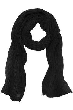 ugg gebreide sjaal zwart