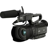 jvc »gy-hm180e« camcorder (4k ultra hd, 12x optische zoom) zwart