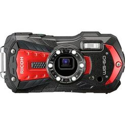 ricoh »wg-60« outdoorcamera (16 megapixel, wifi) rood