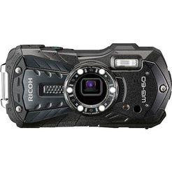 ricoh »wg-60« outdoorcamera (16 megapixel, wifi) zwart
