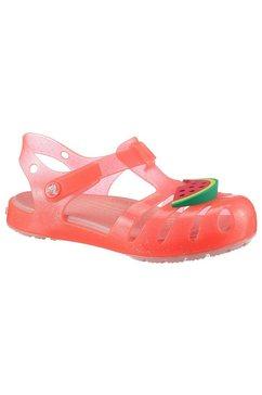 crocs sandalen »crocs isabella charm sandal k« oranje