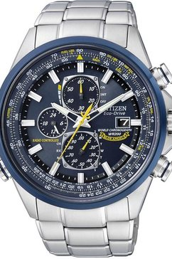 citizen radiografische chronograaf »promaster blue angel, at8020-54l« zilver