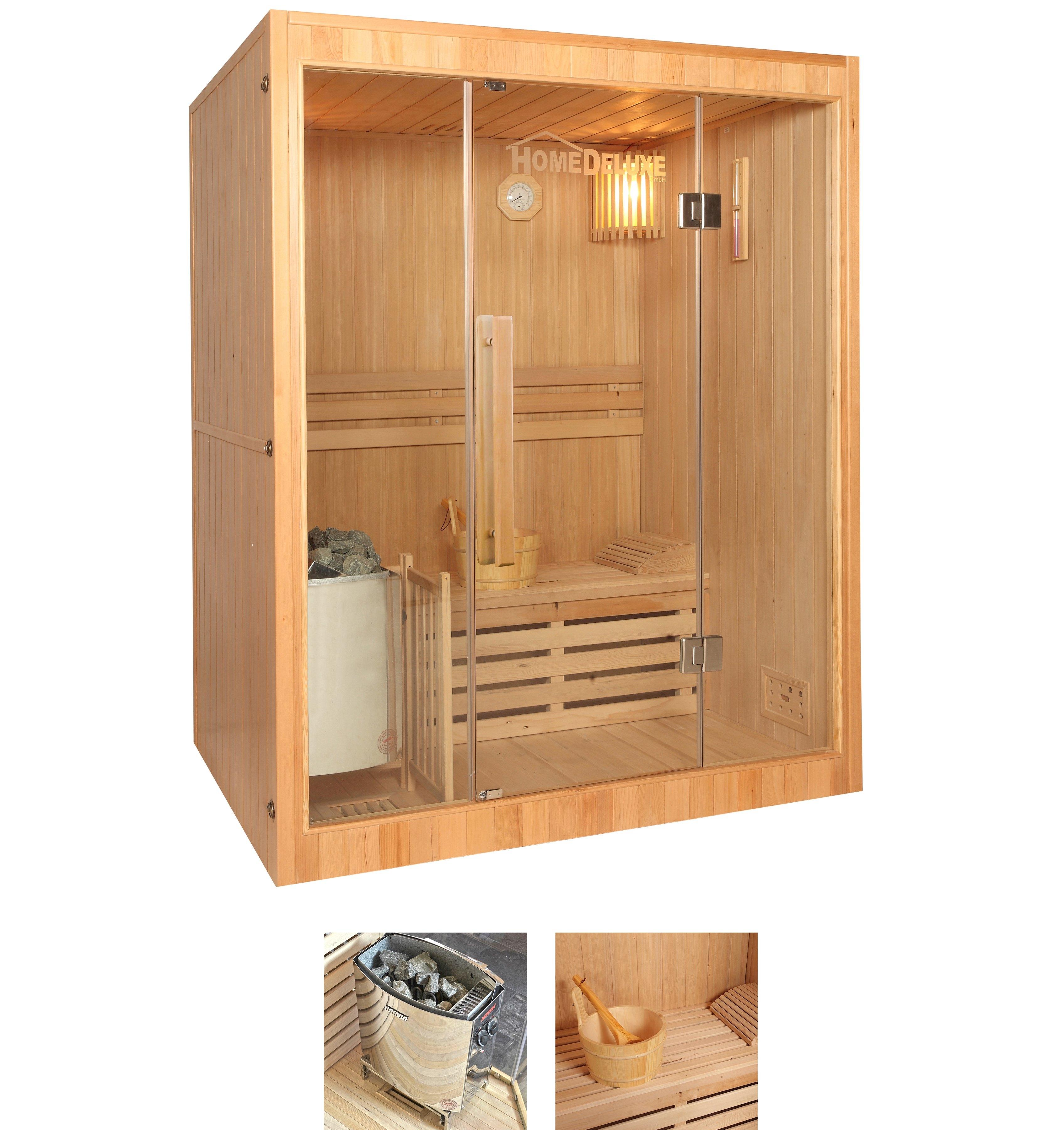 Op zoek naar een HOME DELUXE sauna »Skyline L«, 150x120x190 cm, 3,5 kW kachel met int. bediening? Koop online bij OTTO
