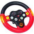 big speelgoedautostuur multi-sound-wheel rood
