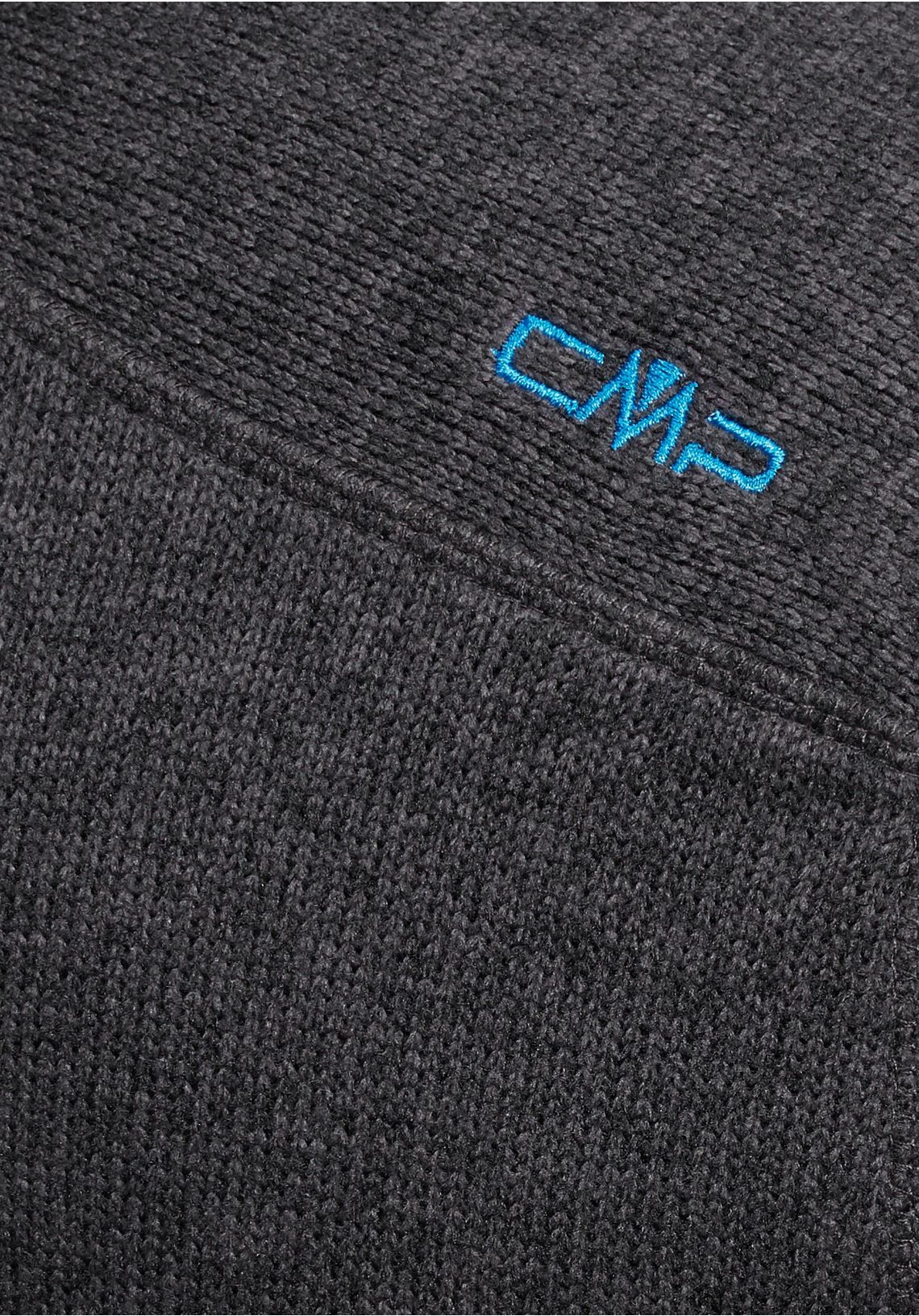 CMP tricot-fleecejack online bij  zwart