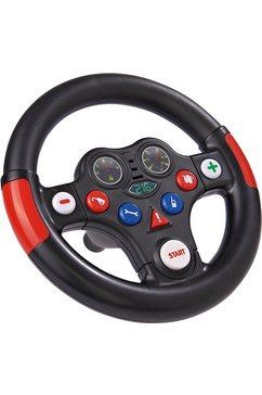 big stuur, »racing-sound-wheel« bruin