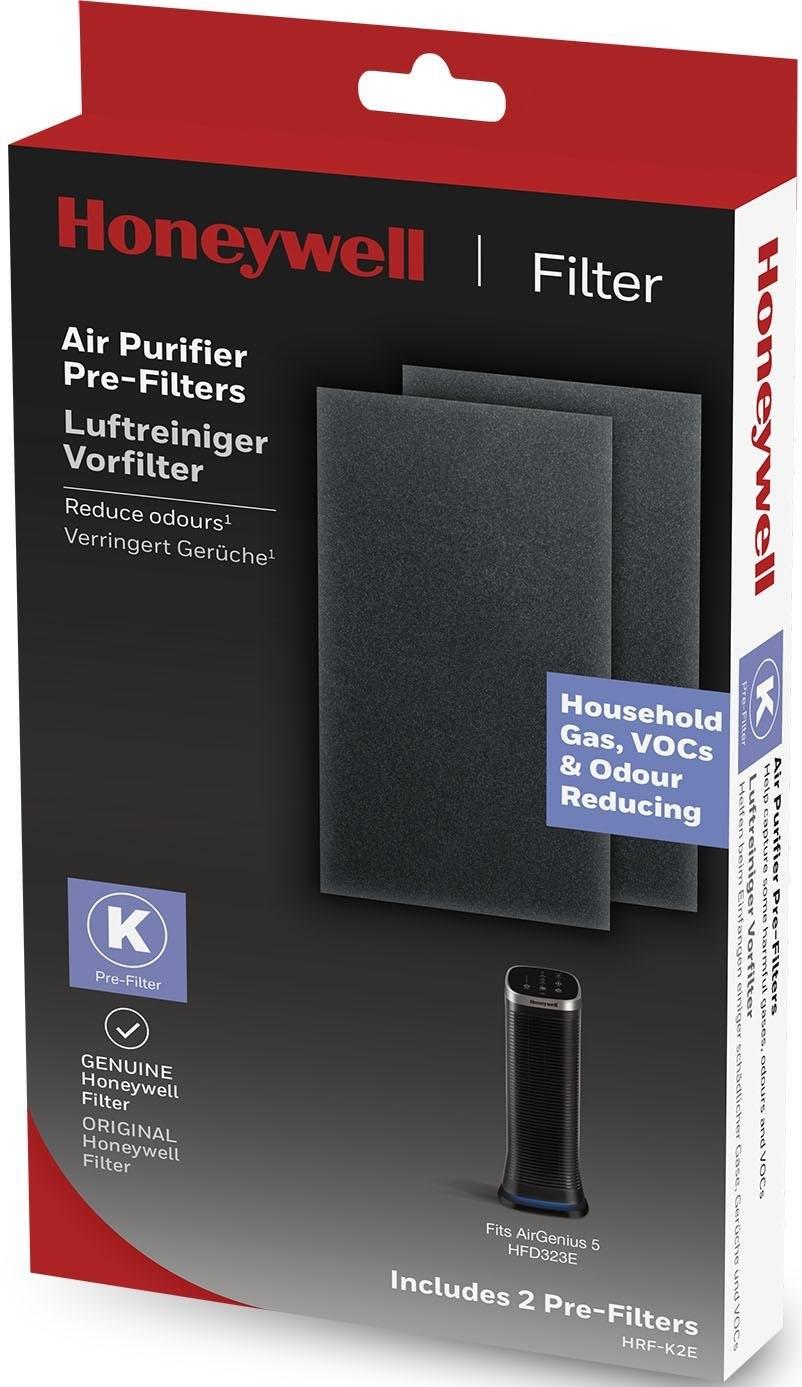Honeywell luchttreiniger & Filter Air Genius geurfilter, HRF-K2E, vermindert geurtjes, voorfilter nu online bestellen