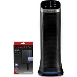 honeywell luchtreiniger airgenius 5 hfd323e2 gepatenteerde  wasbare filter zwart