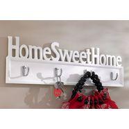 home affaire kapstok home sweet home wit