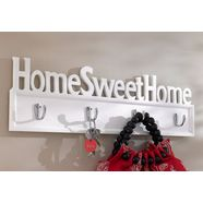 kapstok, home affaire, 'home sweet home' wit