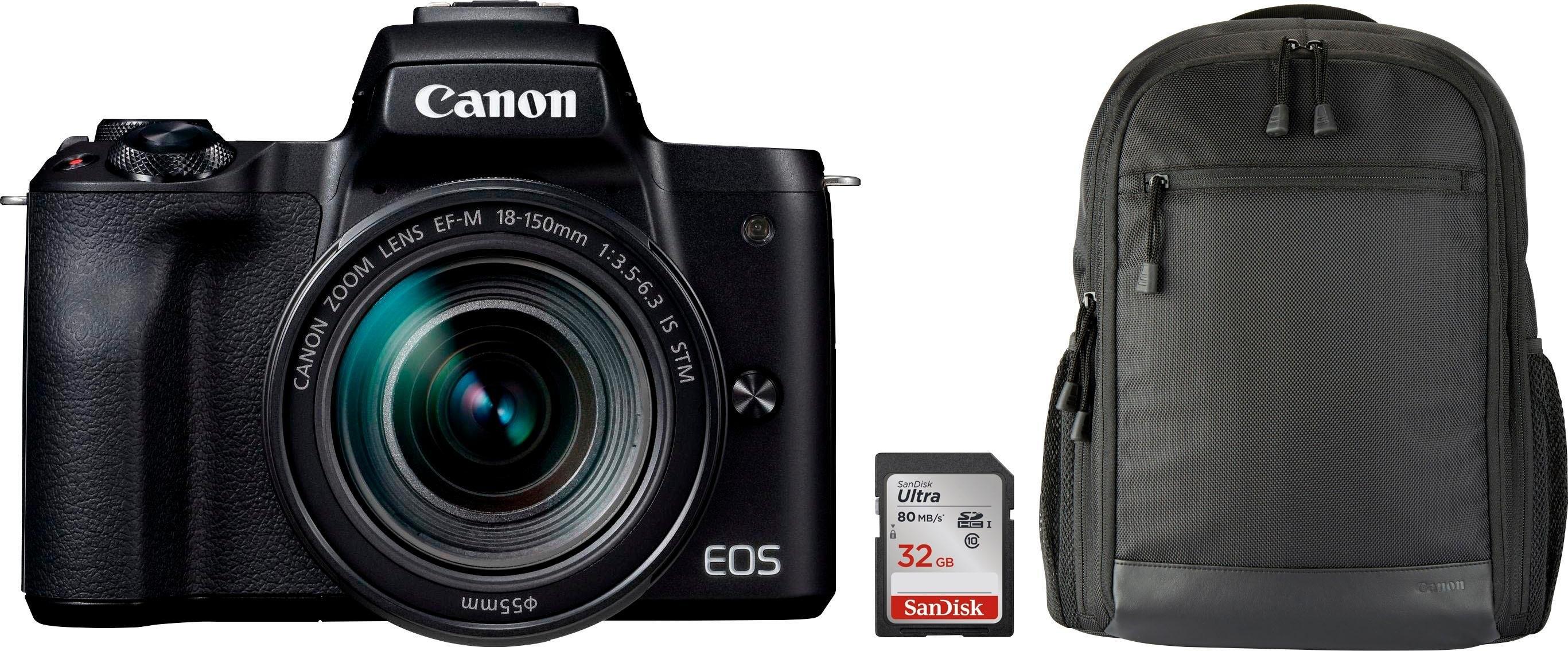 Canon »EOS-M50 EF-M15-45 Kit« systeemcamera (EF-M 15-45, 24,1 MP, NFC wifi bluetooth) bestellen: 14 dagen bedenktijd