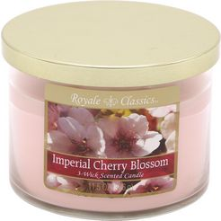 candle-lite™ geurkaars, »royale classic - imperial cherry blossom« roze