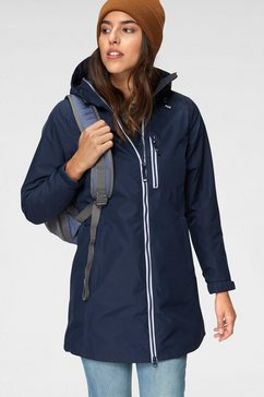 helly hansen functionele parka »long belfast« blauw