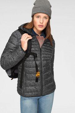 cmp gewatteerde jas zwart
