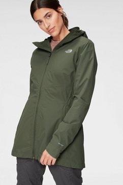 the north face functionele parka »hikesteller« groen