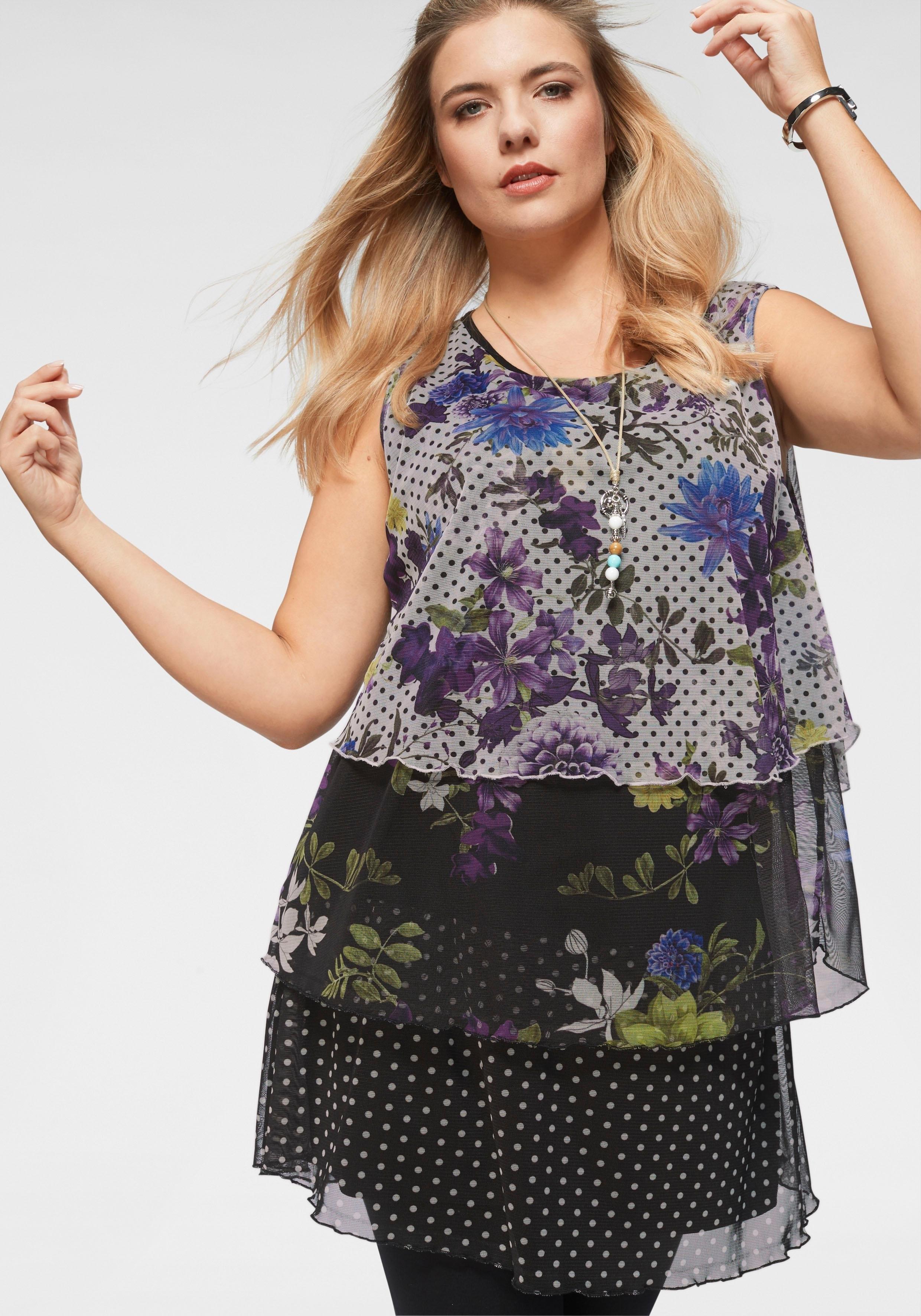 Via Appia Due gedessineerde blouse bij OTTO online kopen