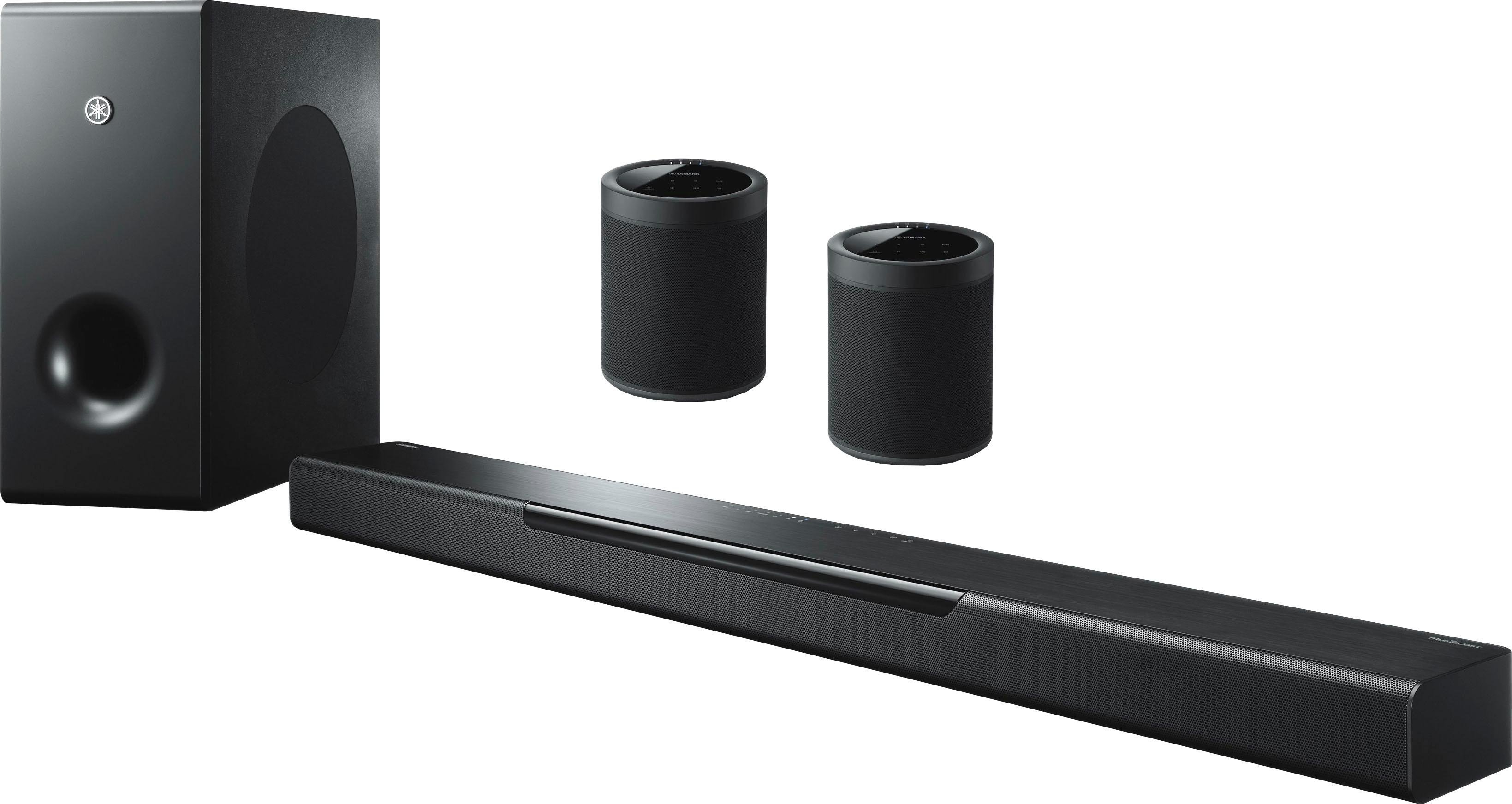 Yamaha »MusicCast Bar 400« 2.1 soundbar (bluetooth, wifi, app-aansturing, 200 W) - gratis ruilen op otto.nl