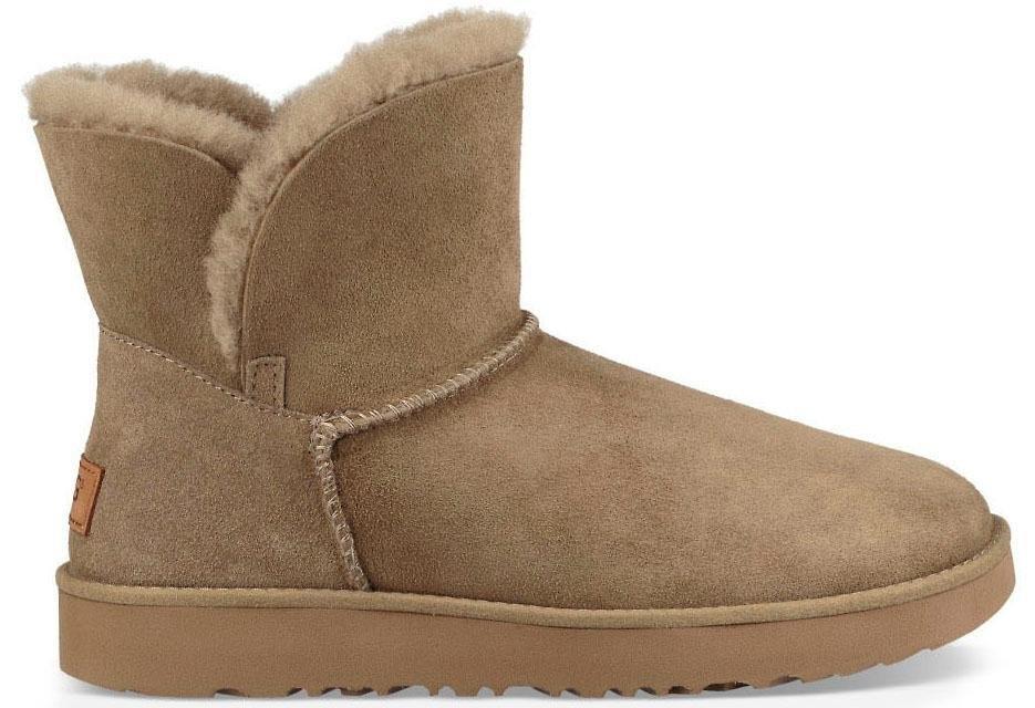 Ugg boots zonder sluiting »Classic Cuff Mini« nu online kopen bij OTTO