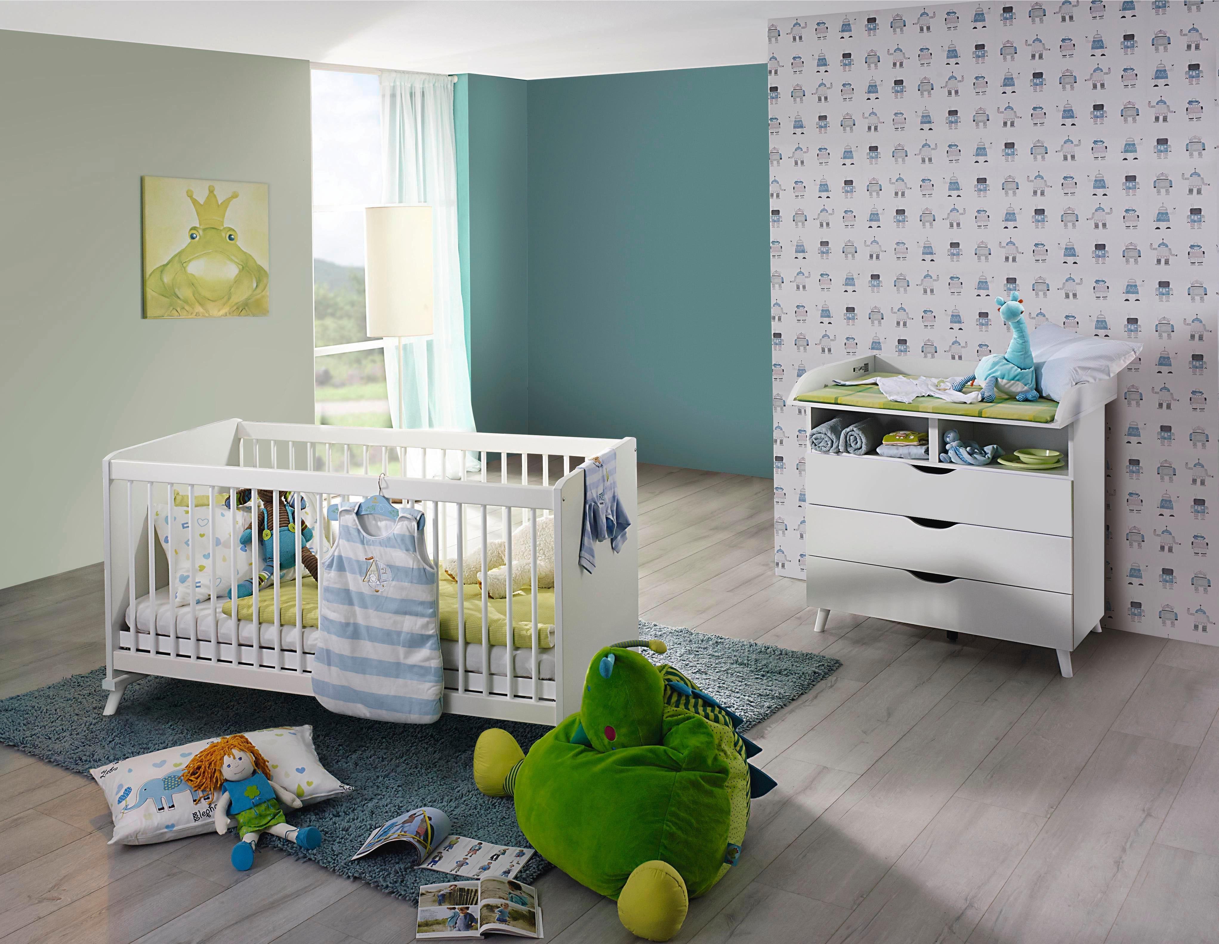 2 Delige Babykamer.Babykamer Voordeelset 2 Delig Danzig Ledikantje Commode Vind Je