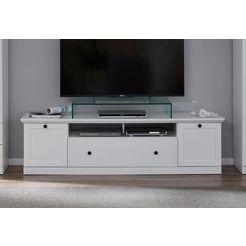 trendteam tv-meubel »baxter«, breedte 177 cm wit
