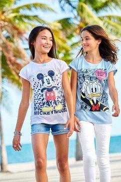 disney t-shirt »donald« blauw