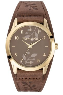 tamaris kwartshorloge »alena brown gold, tw029« bruin