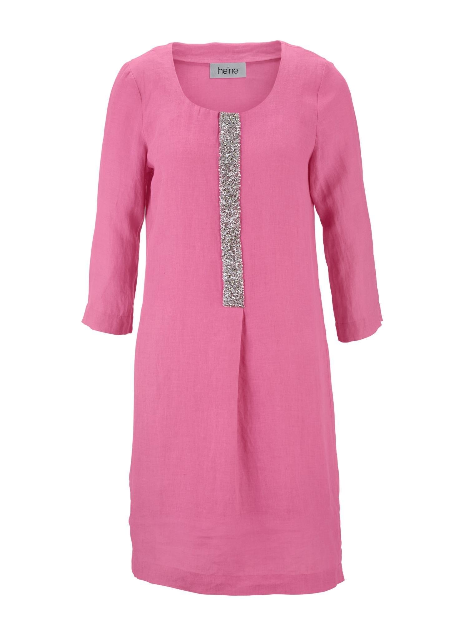 heine Linnen jurk - gratis ruilen op otto.nl