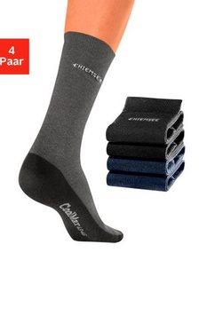 chiemsee sokken (set van 4 paar) met coolmax multicolor