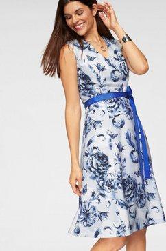 bodyright gedessineerde jurk »shaping« blauw
