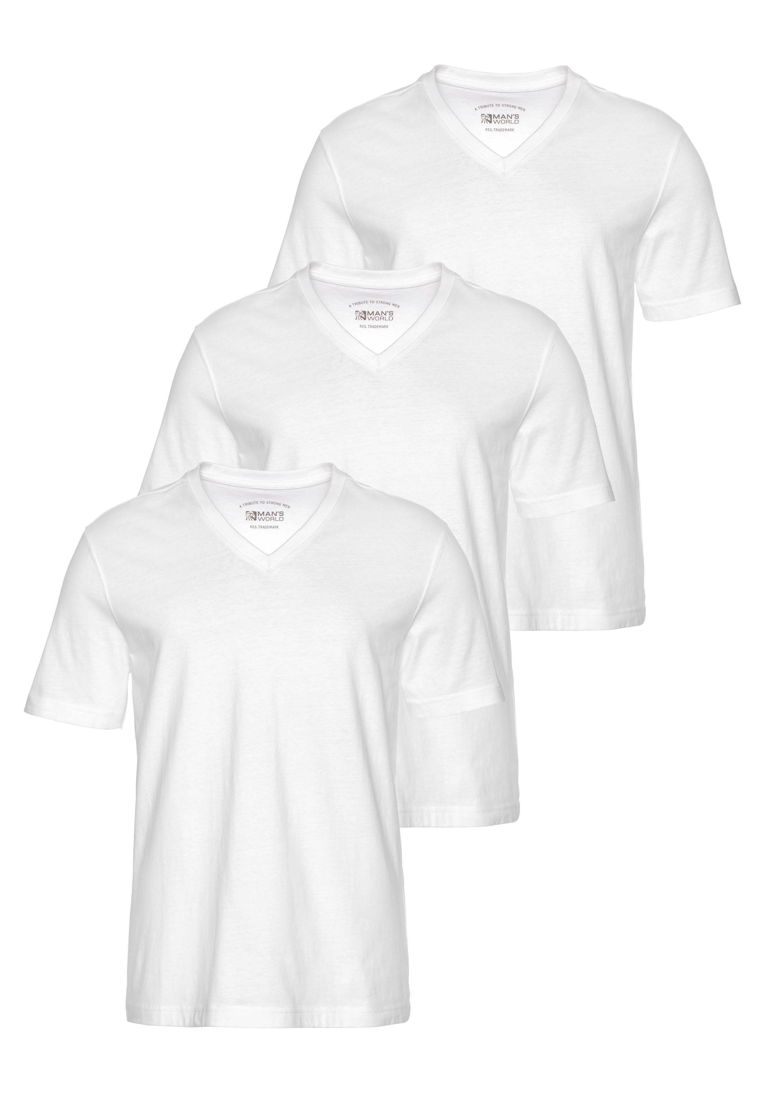 V hals t shirts voor heren in vele kleuren koop je online