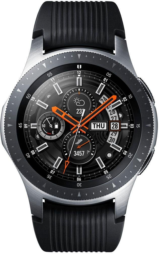 SAMSUNG Galaxy Watch LTE 46 mm smartwatch (3,29 cm / 1,3 inch, Tizen OS) veilig op otto.nl kopen