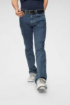 wrangler straight jeans »arizona« blauw