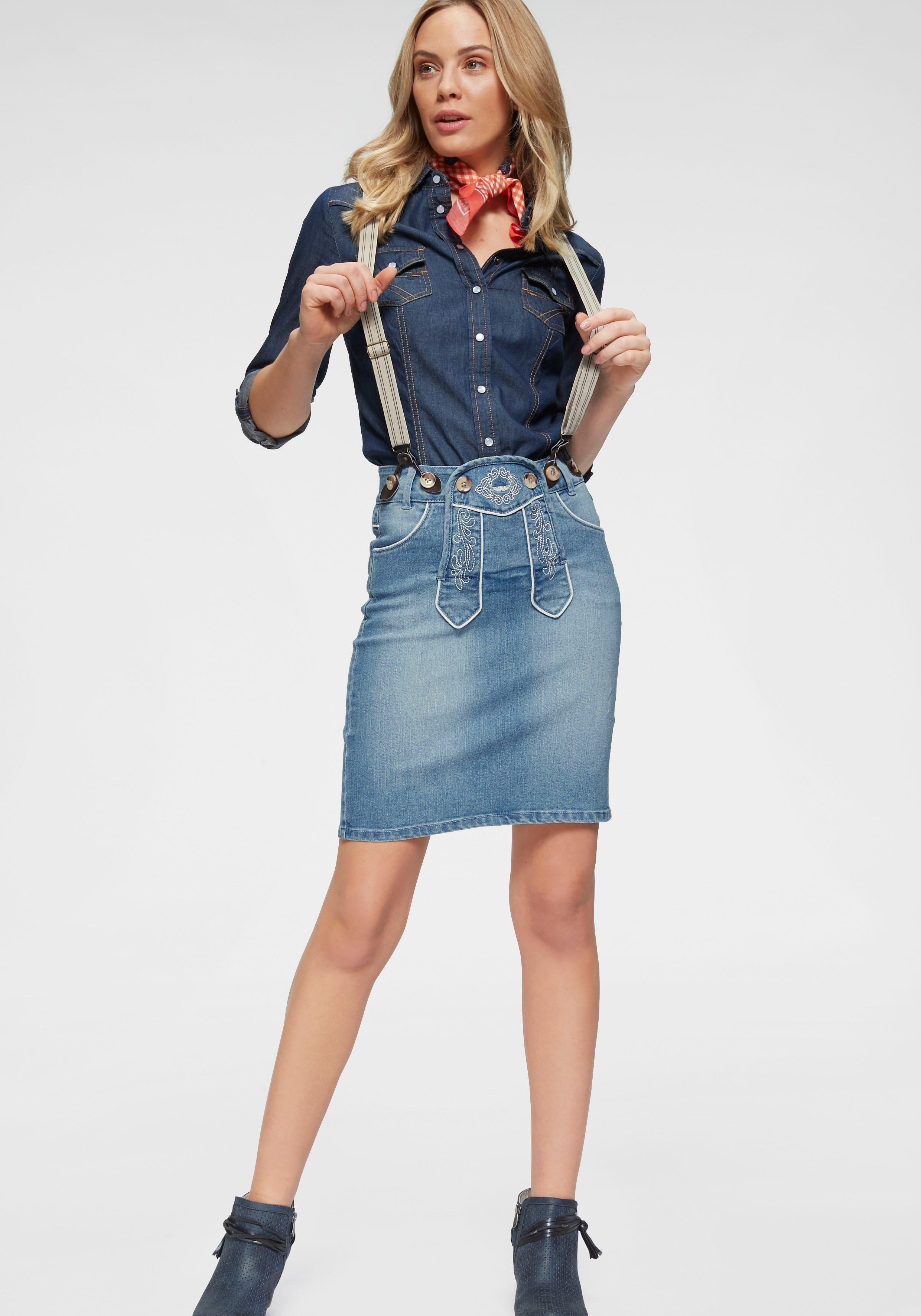 ARIZONA jeansrok »Bavaria« bij OTTO online kopen