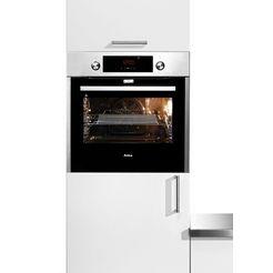 amica oven inclusief tweevoudig telescopisch uittreksysteem en pyrolyse 'ebp 946 100 e' zilver