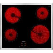 siemens elektronische kookplaat van schott ceran iq100 et645he17 zilver