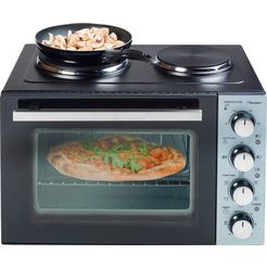 bestron »aov31cp« mini-oven zwart