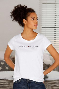 tommy hilfiger t-shirt »modern cotton« wit