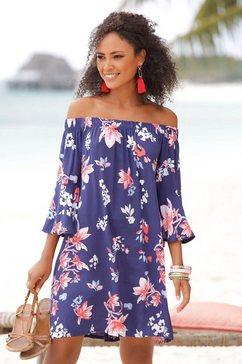 beachtime strandjurk blauw
