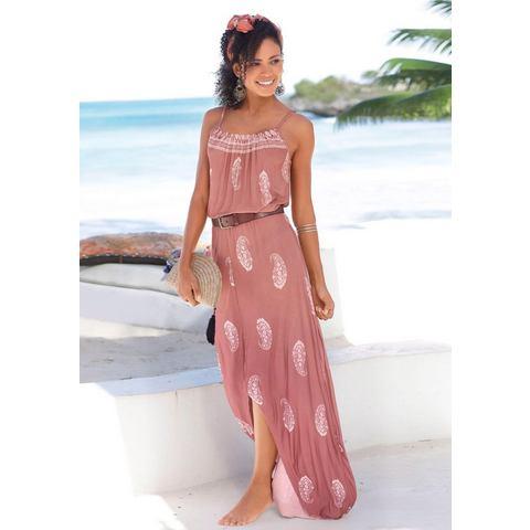 Lascana maxi-jurk rood