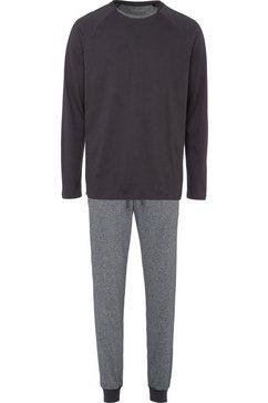 schiesser pyjama grijs