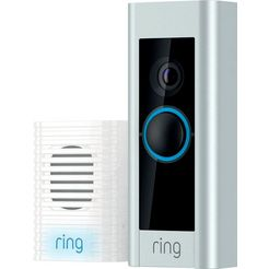 ring bewakingscamera »video doorbell pro« buiten wit