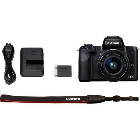 Canon EOS M50 Body Zwart + 15-45mm IS STM