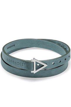 kerbholz leren armband »leather loop, geolea8972« blauw