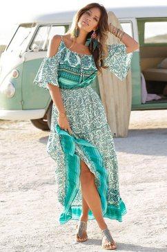 lascana maxi-jurk groen